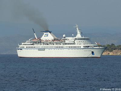 SALAMIS FILOXENIA Departing Aegina 14 Sep 2018