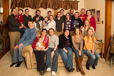 Raabe Christmas Groups - 2012