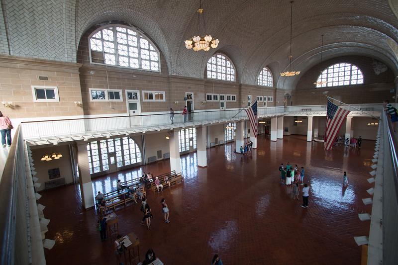 A trip to Ellis Island, June 22, 2017.