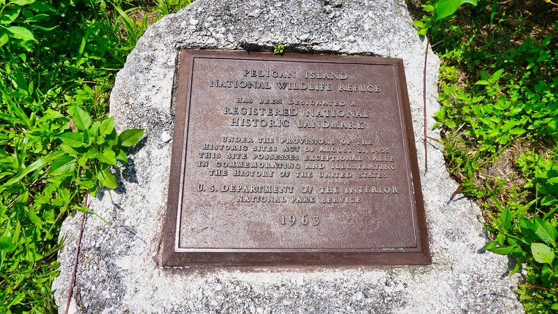 National Historic Landmark plaque