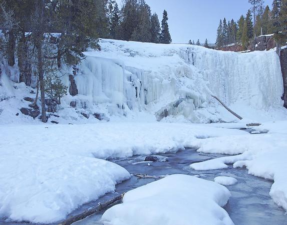 February 15, 2009 Lower Gooseberry Falls