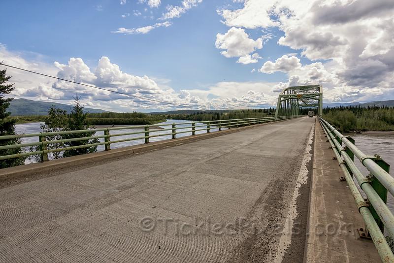 Stewart River Bridge at Stewart Crossing