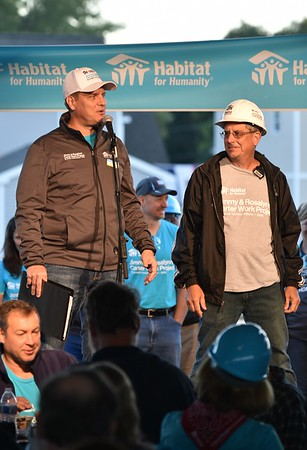 Jimmy and Rosalynn Carter Work Project - Habitat for Humanity  8-30-18