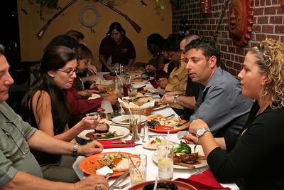 Dinner party to celebrate Nancy Tejada's promotion.