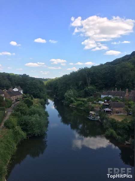 The River Severn in Ironbridge, Shropshire, England