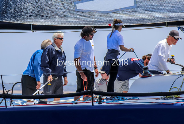 Day 1 of the Farr 40 North Americans at LBYC
