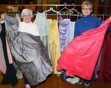 Prom Dress Donations, Zion Lutheran Church, Belle of the Ball, Tamaqua (3-3-2012)