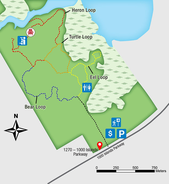 Jones Creek Trail Map