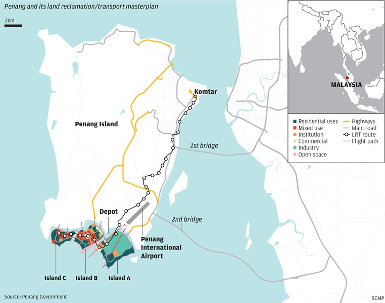 Penang South Islands Transport Masterplan