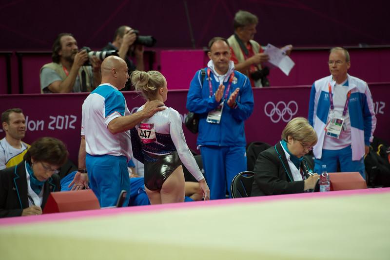 Annika Urvikko at London olympics 2012__29.07.2012_London Olympics_Photographer: Christian Valtanen_London_Olympics_Annika Urvikko at London olympics 2012_29.07.2012__ND49950_Annika Urvikko, finnish athlete, gymnastics