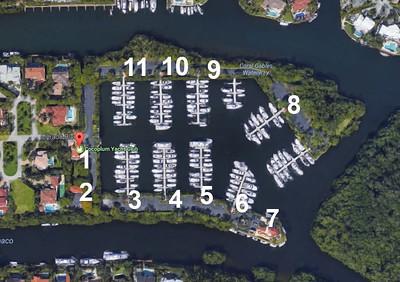 Cocoplum Yacht Club - Drone