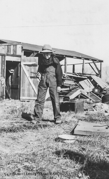 WF1921-Uncle Dan at clubhouse he built.jpg