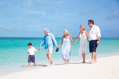 Collins Family | Vacation Photo Session | Exuma, Bahamas
