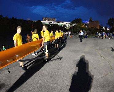 Rowing on the Cuyahoga