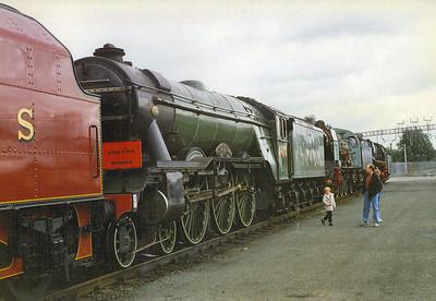4472 Flying Scotsman (Preserved) 1963-present day