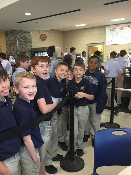 4th enjoys lunch at main campus 3-17-17