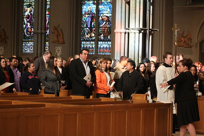 RCIA at Cathedral 2012
