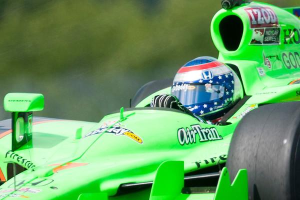 Mid-Ohio Indy Car Practice