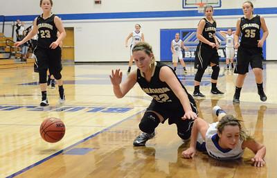 Basketball - LHS Girls JV 2015-16 - Marshfield