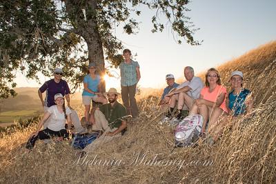 Sonoma Land Trust Live Oak Sunset Hike