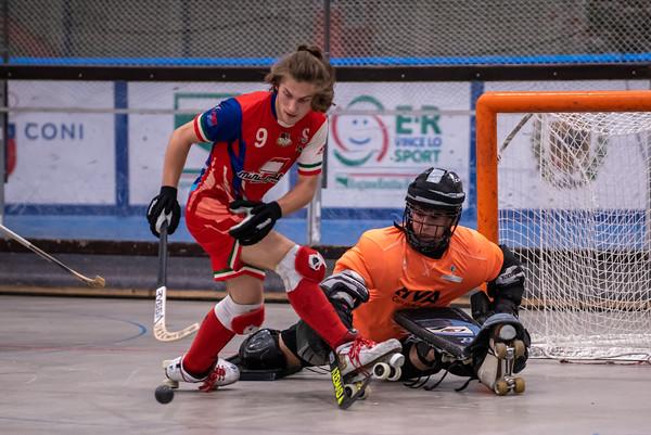 Semifinale: Correggio Hockey vs Montecchio Precalcino