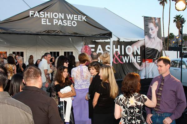 2010 Fashion Week Saturday Tent Event