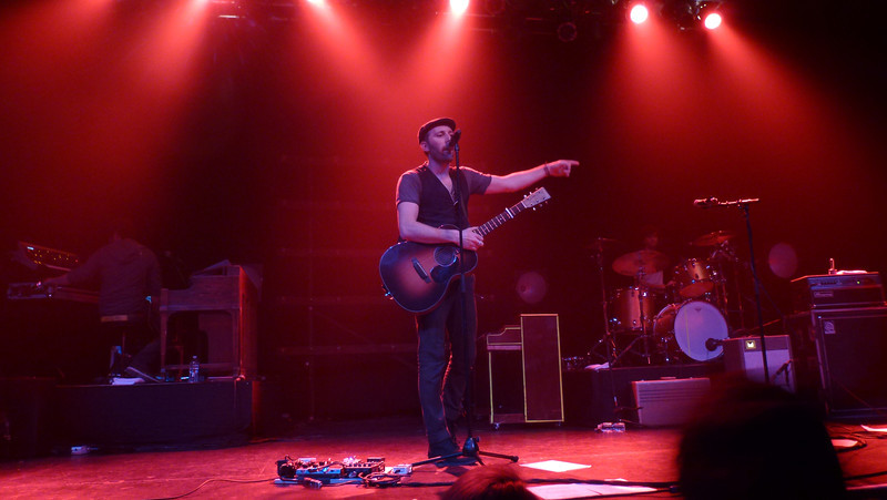 Mat Kearney, Center Stage, Atlanta (January 28, 2012)