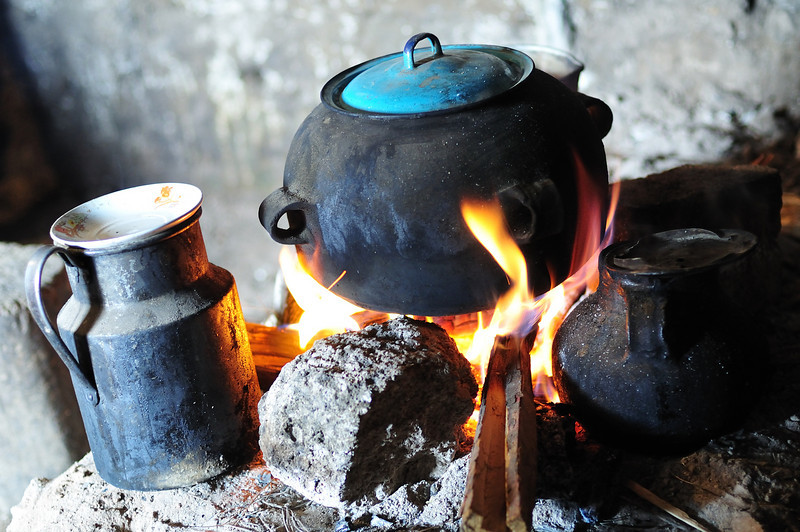 Traditional Mayan Cooking Stoves