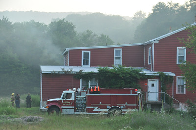 BUTLER TOWNSHIP BUILDING FIRE 7-18-2013 PICTURES BY COALREGIONFIRE