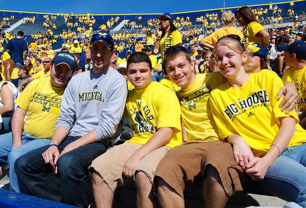 Michigan vs Eastern Michigan 2009