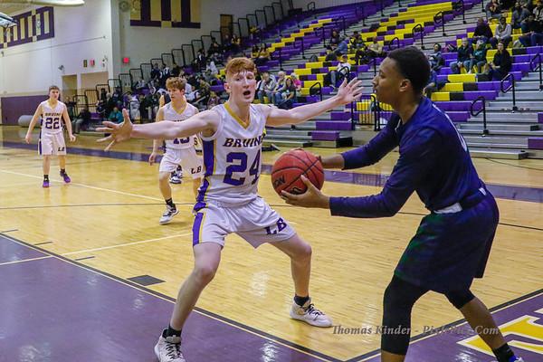 Boys JV Basketball v South County 1/24/20