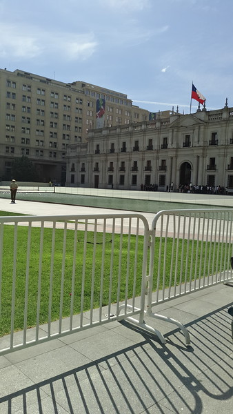 Fachada de la Moneda Oct. '17