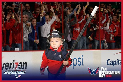 Washington Capitals Fan Appreciation Day 2015