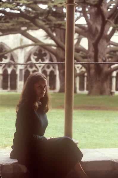 1981-09 Salisbury Cathedral Chris.jpg