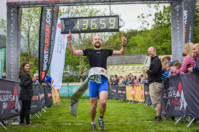 Sportpursuit Slateman Triathlon - Duathlon Finish Pictures
