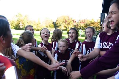 AMHS M.S. Girls Soccer vs WR photos by Gary Baker