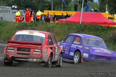 10.09.2011 | Rallicross SM, Hyvinkää