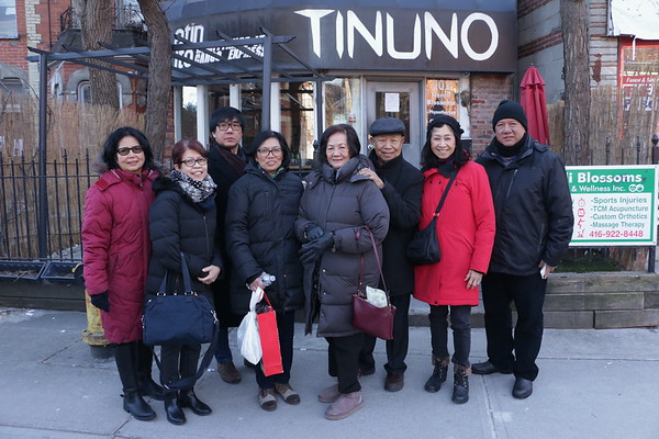 Lunch at Tinuno