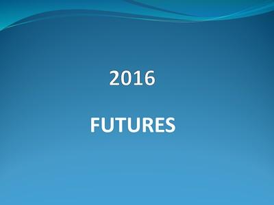 2016 Futures