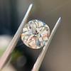 3.56ct Antique Cushion Cut Diamond 37