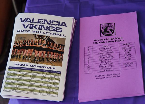 Varsity Girls vs Valencia