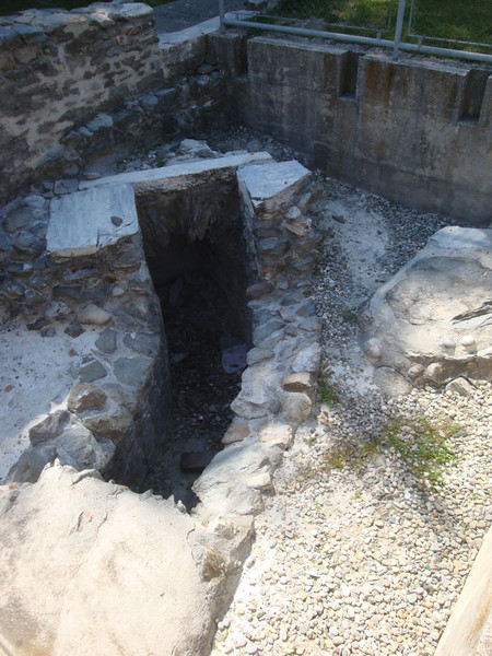 A roman drain.