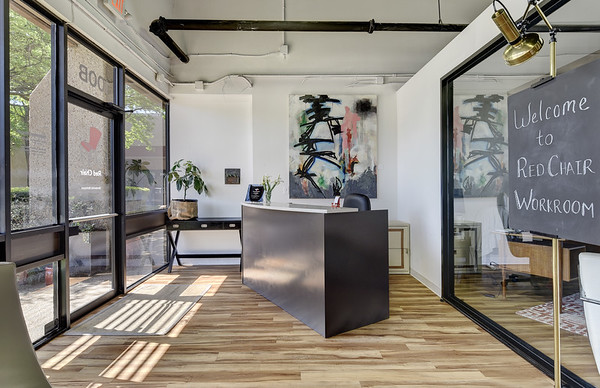 Red Chair Workroom | Anita Erickson | Workspace for Designers, Builders and Architects