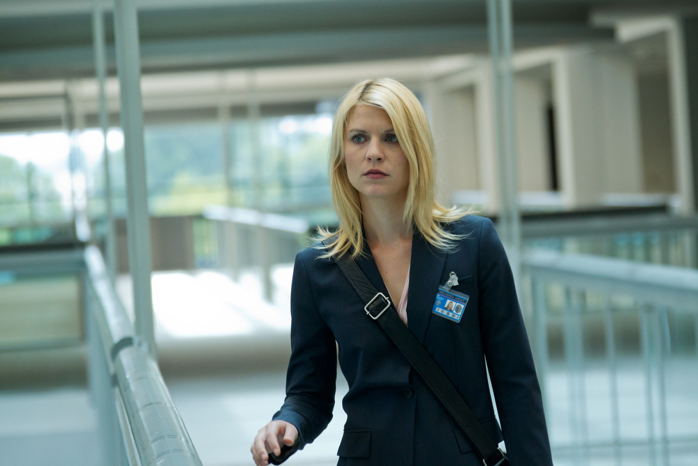 Description of . In this image released by Showtime, Claire Danes portrays Carrie Mathison in a scene from the Showtime original series,