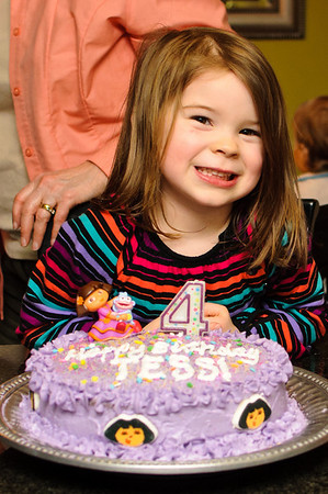 tessie 4th b-day