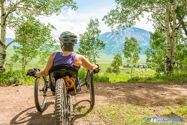 Off Road Handcycling - Mt. Crested Butte