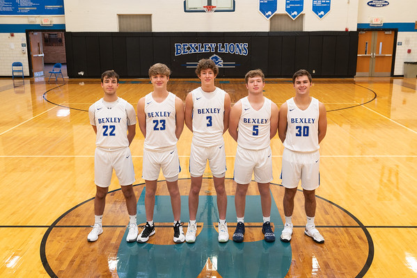 Boys Basketball Portraits