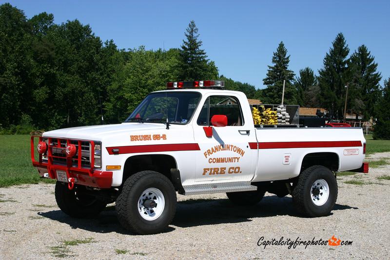 Franklintown Brush 65-2: 1985 Chevrolet 190/150