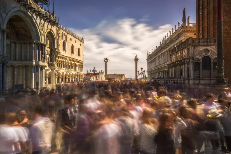 Crowded on St. Mark's Square