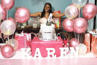 MARCH 20TH, 2021: KAREN'S BIRTHDAY BASH